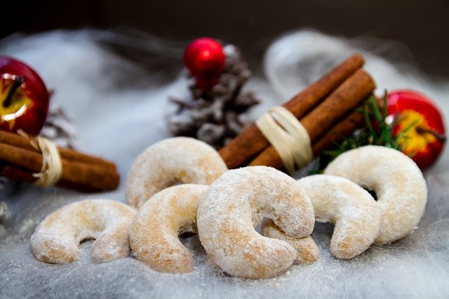 vanillekipferl, ванилови сладки, Австрия, Коледа