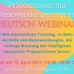 Научете немските предлози в безплатния уебинар на Татяна Петкова