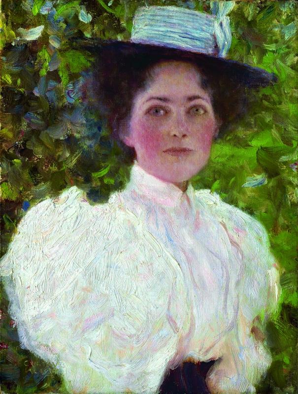 портрет на жена, Густав Климт