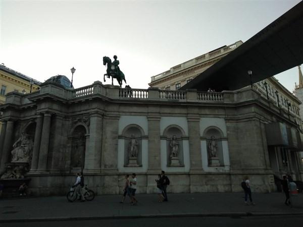 Музеят Албертина в центъра на Виена